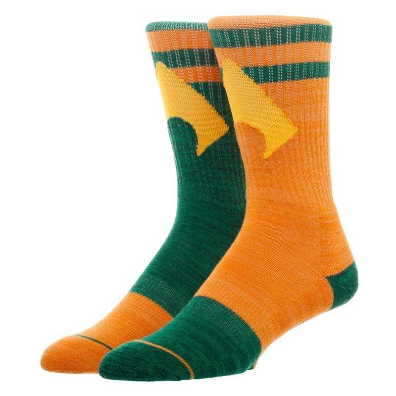 Aquaman Flipped Colors Men's Crew Socks