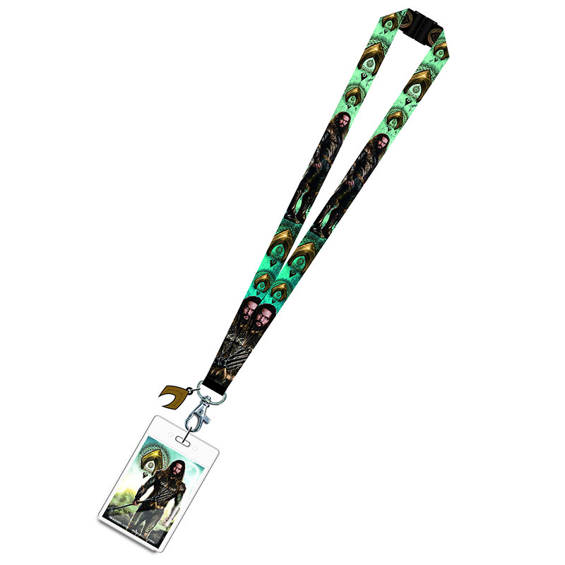 Aquaman Avengers Movie Design Lanyard Keychain
