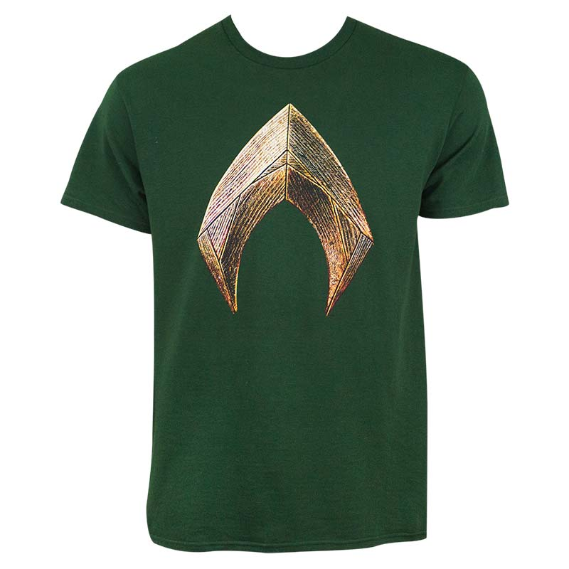 Justice League Men's Green Aquaman T-Shirt