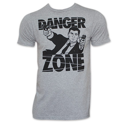 Archer FX Cartoon Show Danger Zone T-Shirt