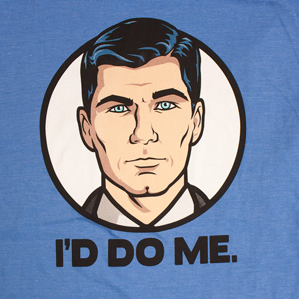 Blue Archer I'd Do Me Tee Shirt