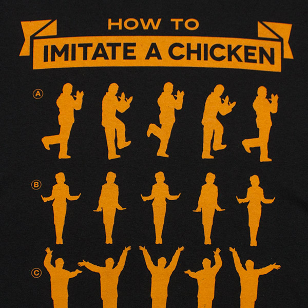 Arrested Development How To Imitate Chicken Tee - Black