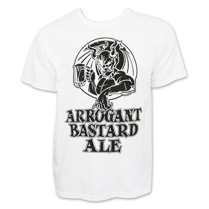 Arrogant Bastard Ale Logo Tee Shirt