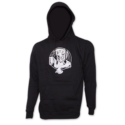 Stone Brewing Co. Arrogant Bastard Logo Black Pullover Hoodie