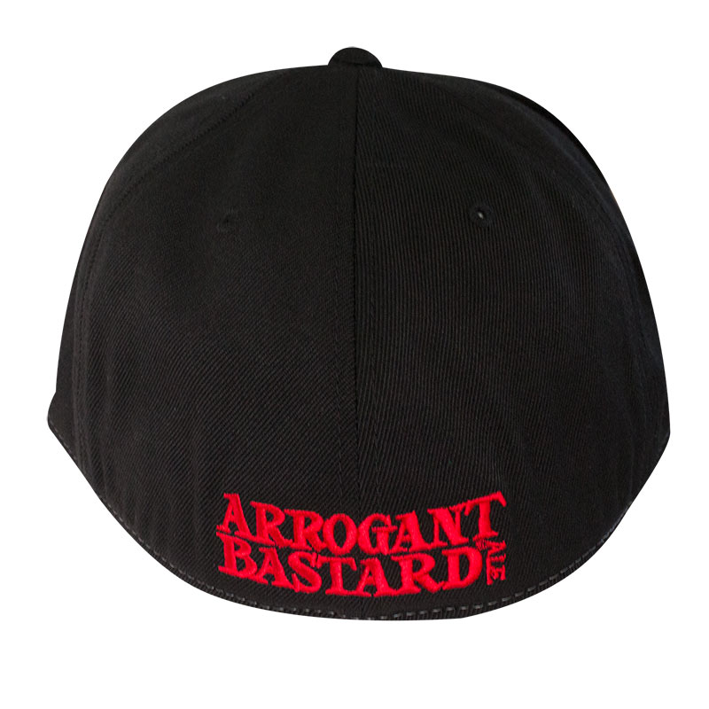 Arrogant Bastard Two-Tone Red & Black Hat