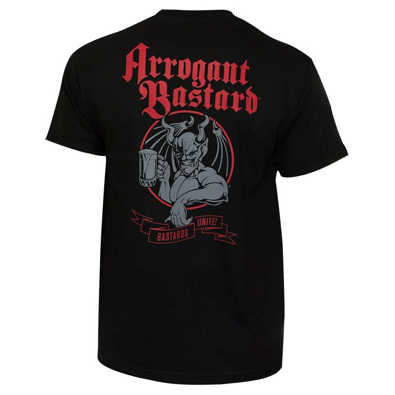 Arrogant Bastard Men's Black Unite T-Shirt