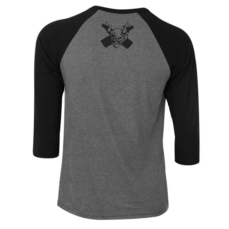 Arrogant Bastard Men's Grey Raglan Sleeve T-Shirt