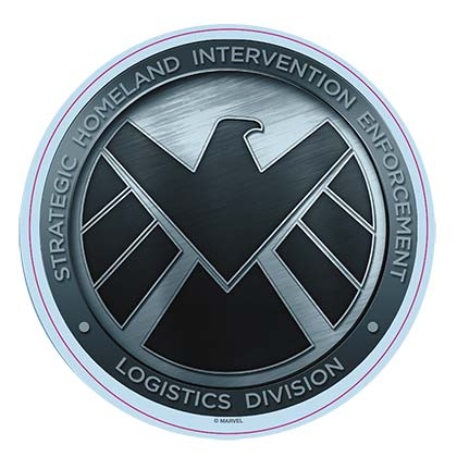 Avengers Comic S.H.I.E.L.D. Logo Car Window Decal