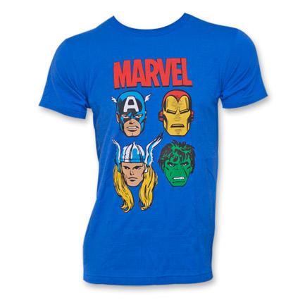 Marvel Avengers T-Shirt - Blue