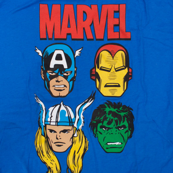 Marvel Avengers Shirt Blue