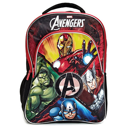 Avengers Light Up Youth Backpack