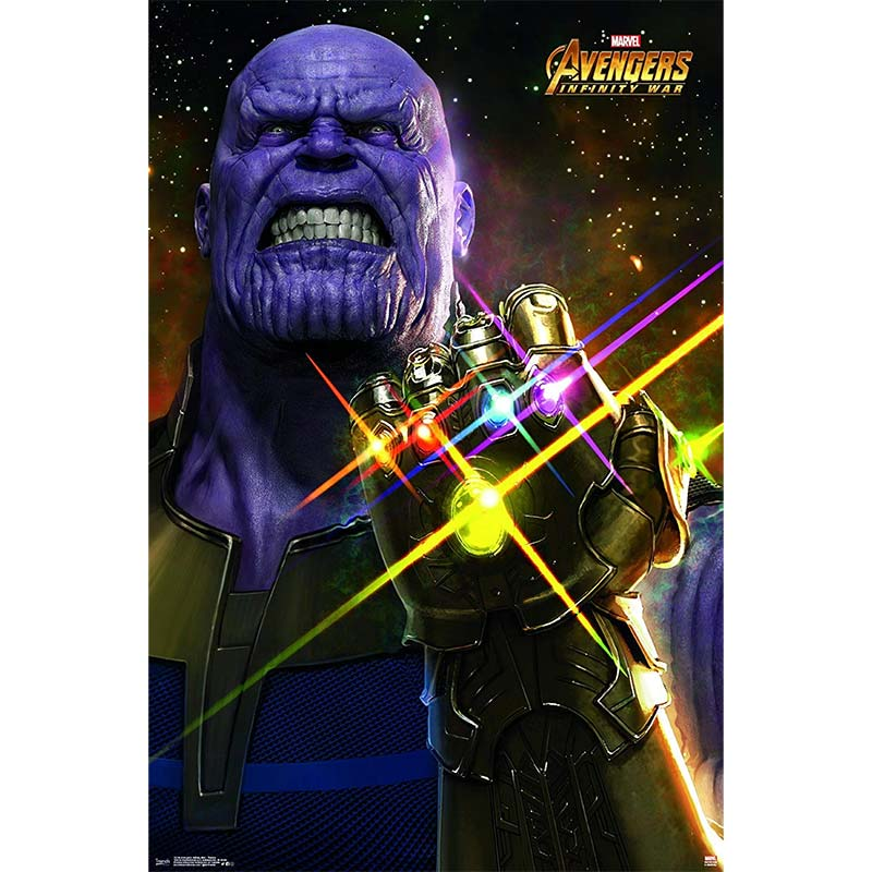 Avengers Infinity War Thanos Movie Poster