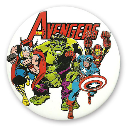 Giant Avengers Group Button