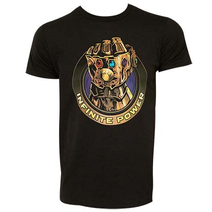 Avengers Infinity War Thanos Infinite Power Tshirt
