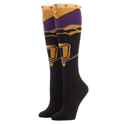 Avengers Infinity War Thanos Costume Women's Socks