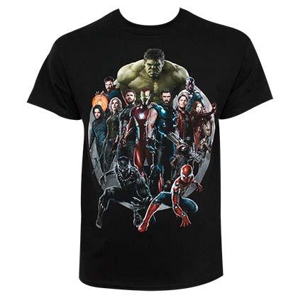 Avengers Infinity War Heroes Tshirt