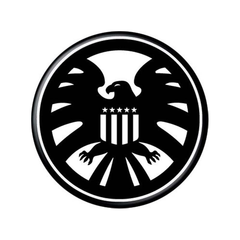 Avengers S.H.I.E.L.D Logo Button