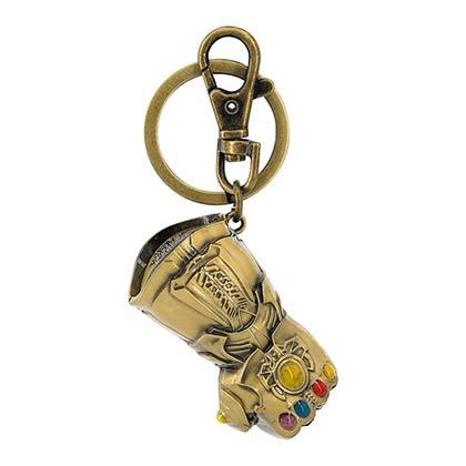 Avengers Infinity War Thanos Gauntlet Keychain