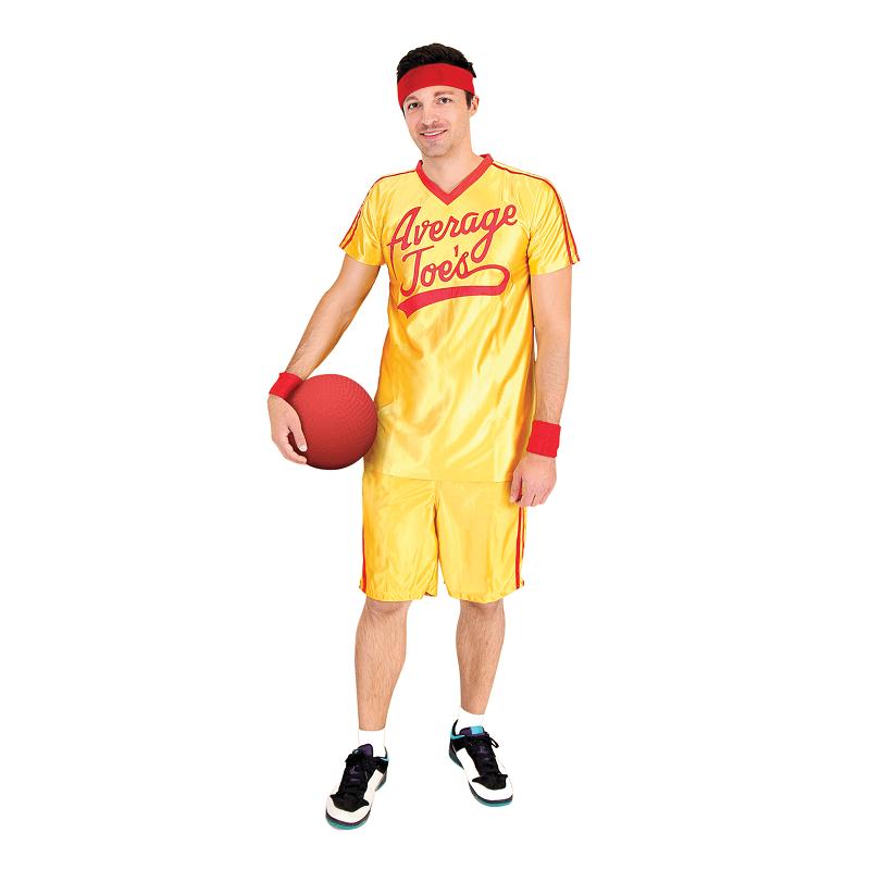 Dodgeball Yellow Average Joe's Costume