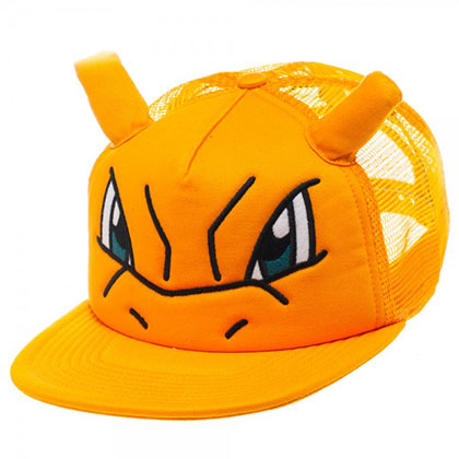 Pokemon Mesh Charizard Trucker Hat