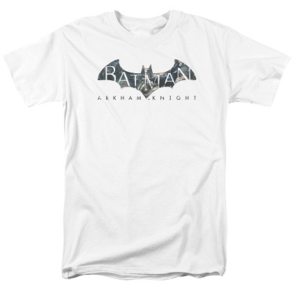 Batman Arkham Knight White Tshirt