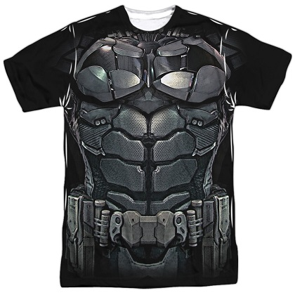 Batman Uniform Front and Back Print Costume Tee