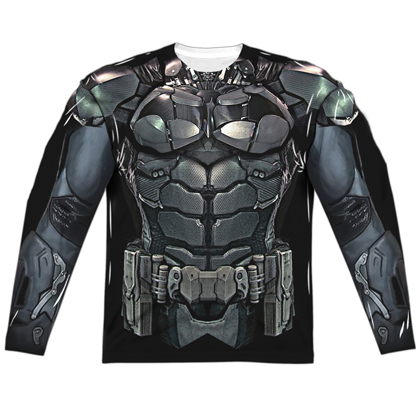 Batman Uniform Long Sleeve Costume Tee