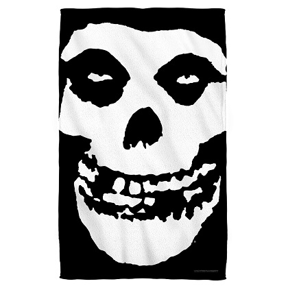 Misfits Logo Beach Towel