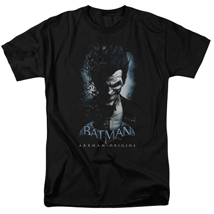Batman Arkham Origins Joker Poster Tshirt