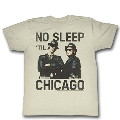 Blues Brothers No Sleep T-Shirt