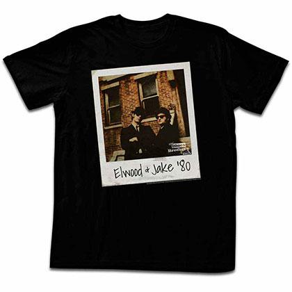 Blues Brothers Polaroid Black Tee Shirt