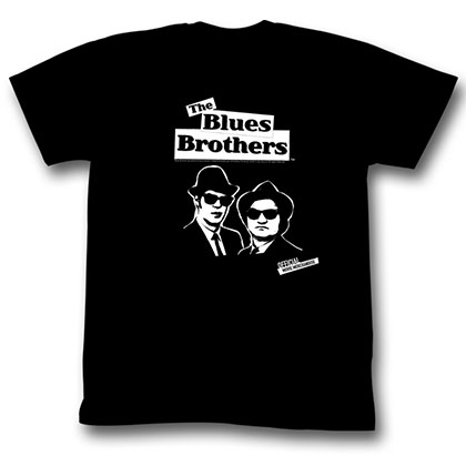 Blues Brothers Brothers Simple T-Shirt