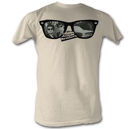 Blues Brothers Glasses Blues T-Shirt