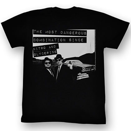 Blues Brothers Danger T-Shirt