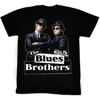 Blues Brothers New Blue T-Shirt