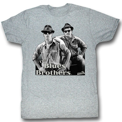 Blues Brothers Black And Blue T-Shirt