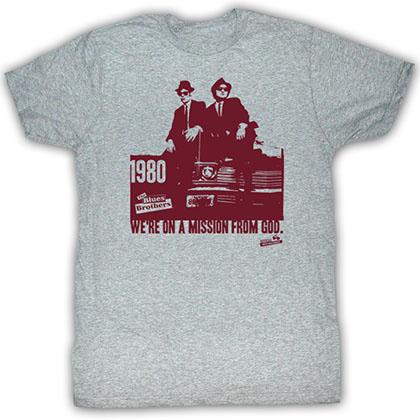 Blues Brothers Mission Statement T-Shirt