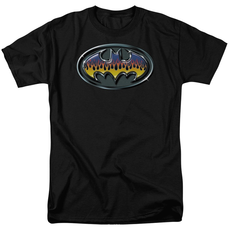 Batman Hot Rod Logo Tshirt