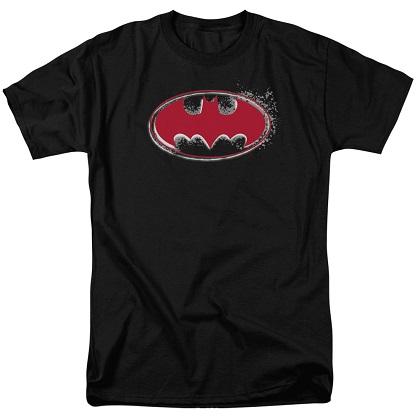 Batman Hardcore Noir Logo Tshirt