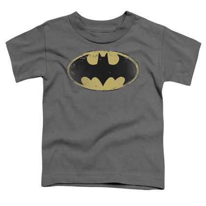 Batman Distressed Logo Toddlers Tshirt