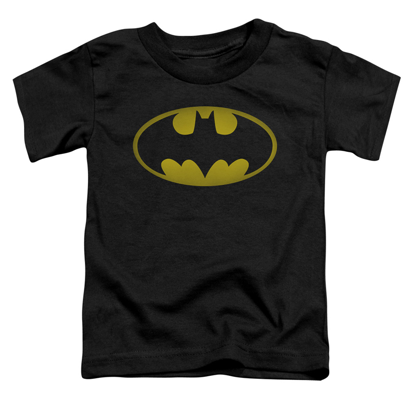 Batman Washed Out Logo Toddlers Tshirt