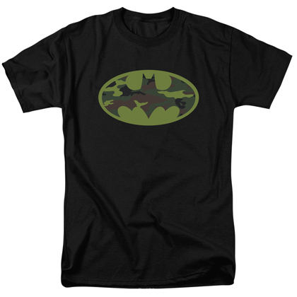 Batman Camo Logo Men's Tshirt