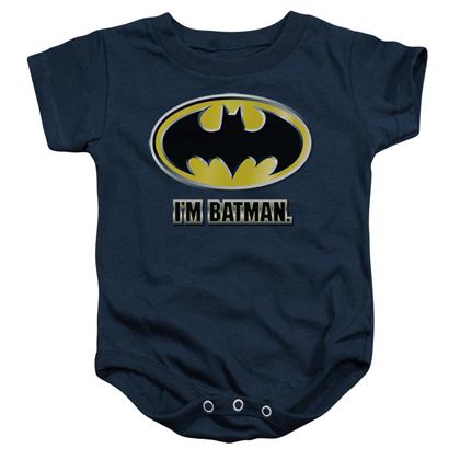 Batman I'm Batman Baby Onesie