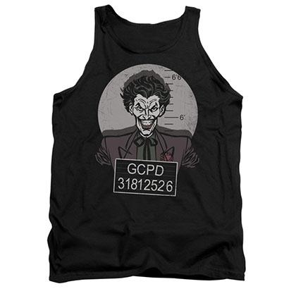 Batman Men's Black Joker Busted Tank Top