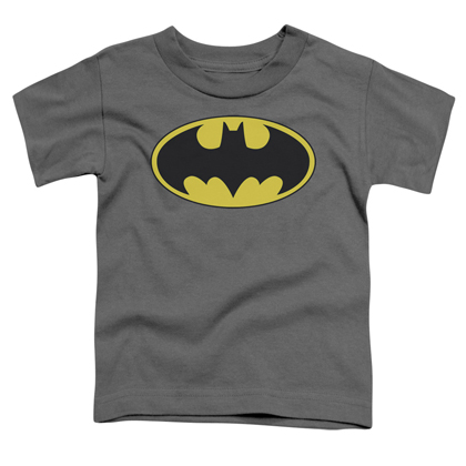 Batman Logo Toddlers Grey Tshirt