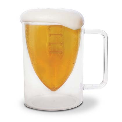 Football Glass Mug