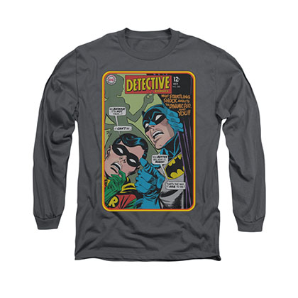 Batman Detective 380 Gray Long Sleeve T-Shirt