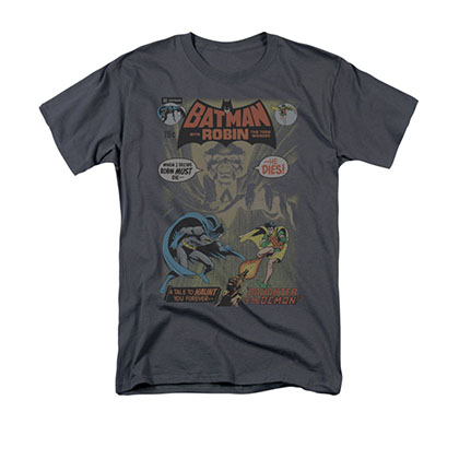 Batman Men's Gray Comic Cover 232 Tee Shirt