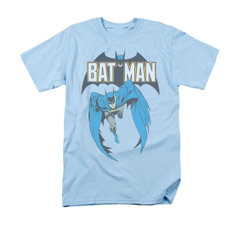 Batman Men's Blue Comic Cover 241 Tee Shirt