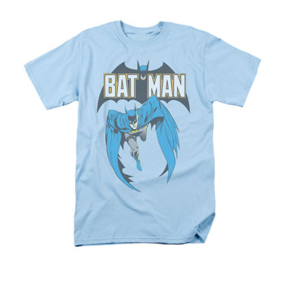 Batman Men's Blue Comic Cover 241 Tee Shirt